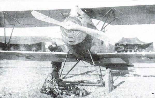 Portogruaro - Campo di aviazione a Torresella nel 1915