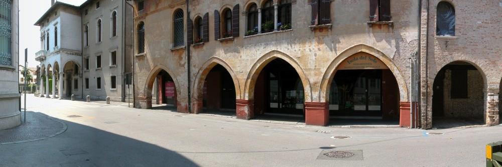 Portogruaro - Via Garibaldi - Inizio via Seminario