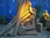 Jesolo - Sand Nativity 2010